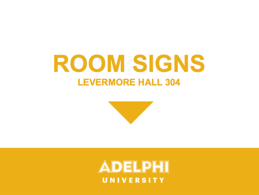Room Sign Down