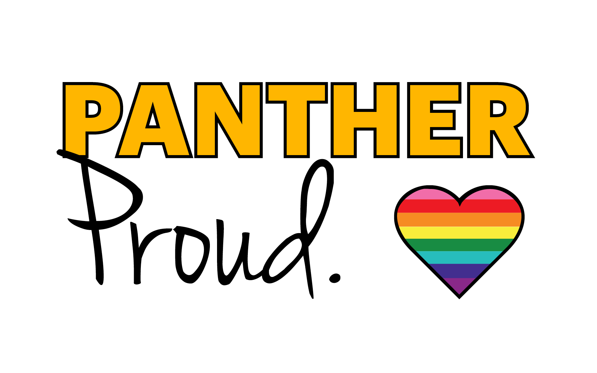 Adelphi Panter Pride LGBTQ Wallpaper - Design Preview