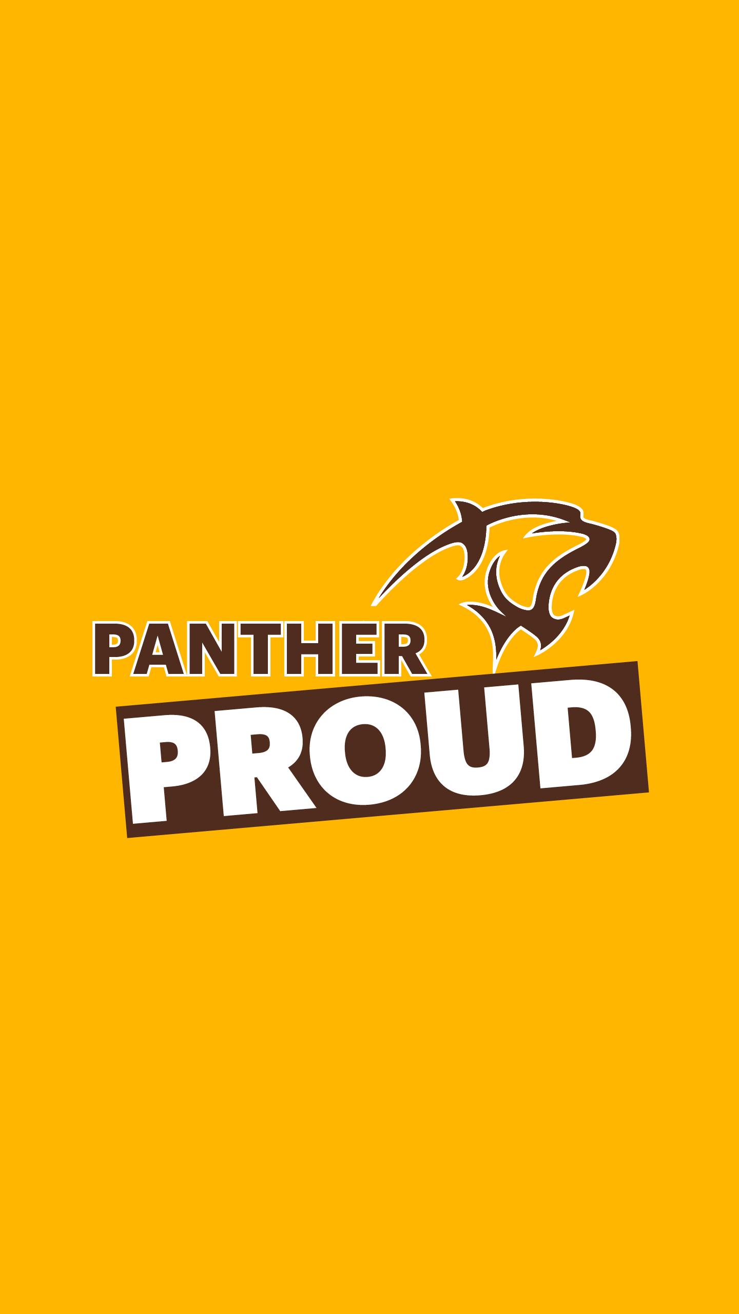 Smartphone - Adelphi Panther Proud Wallpaper