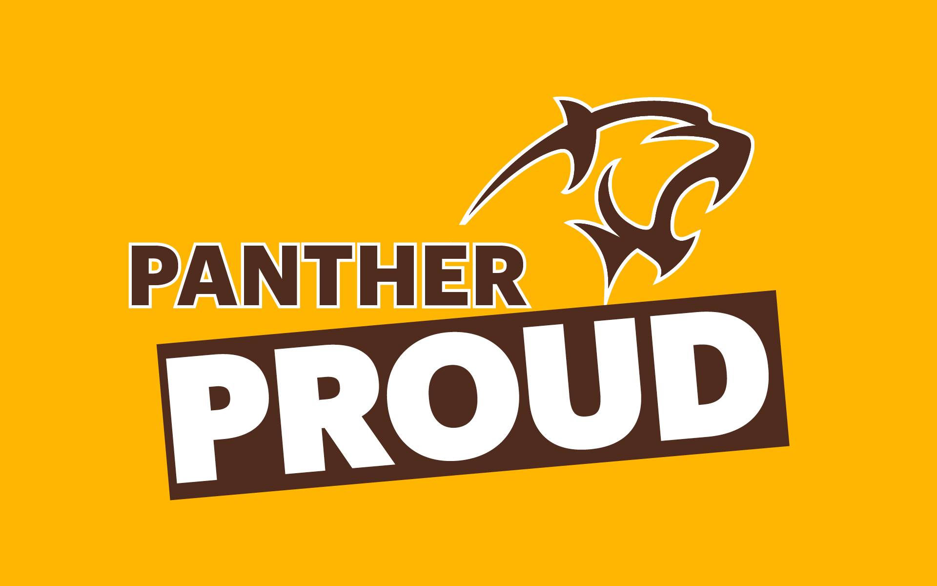 Adelphi Panther Proud Wallpaper - Design Preview