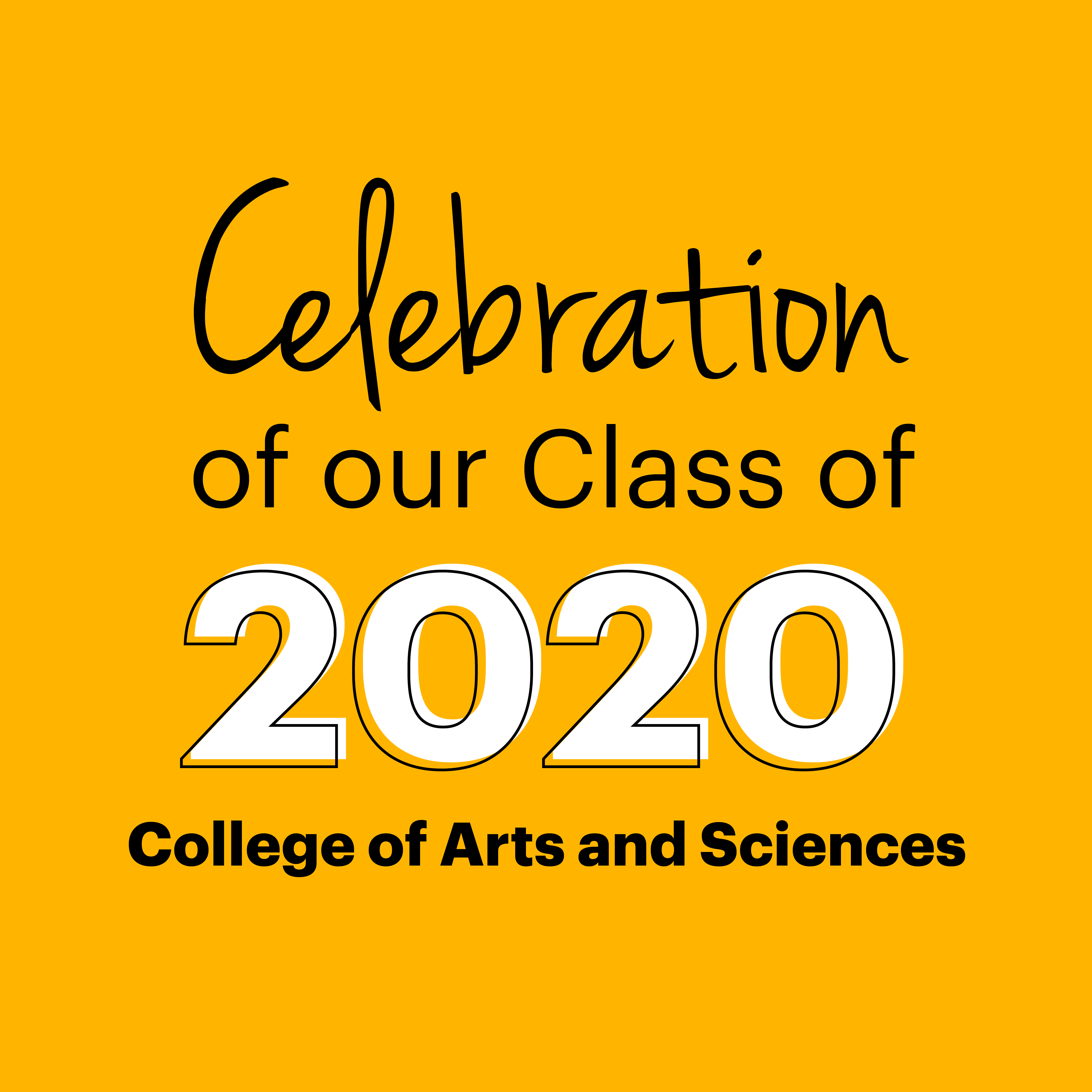 Class of 2020 - Arts and Sciences