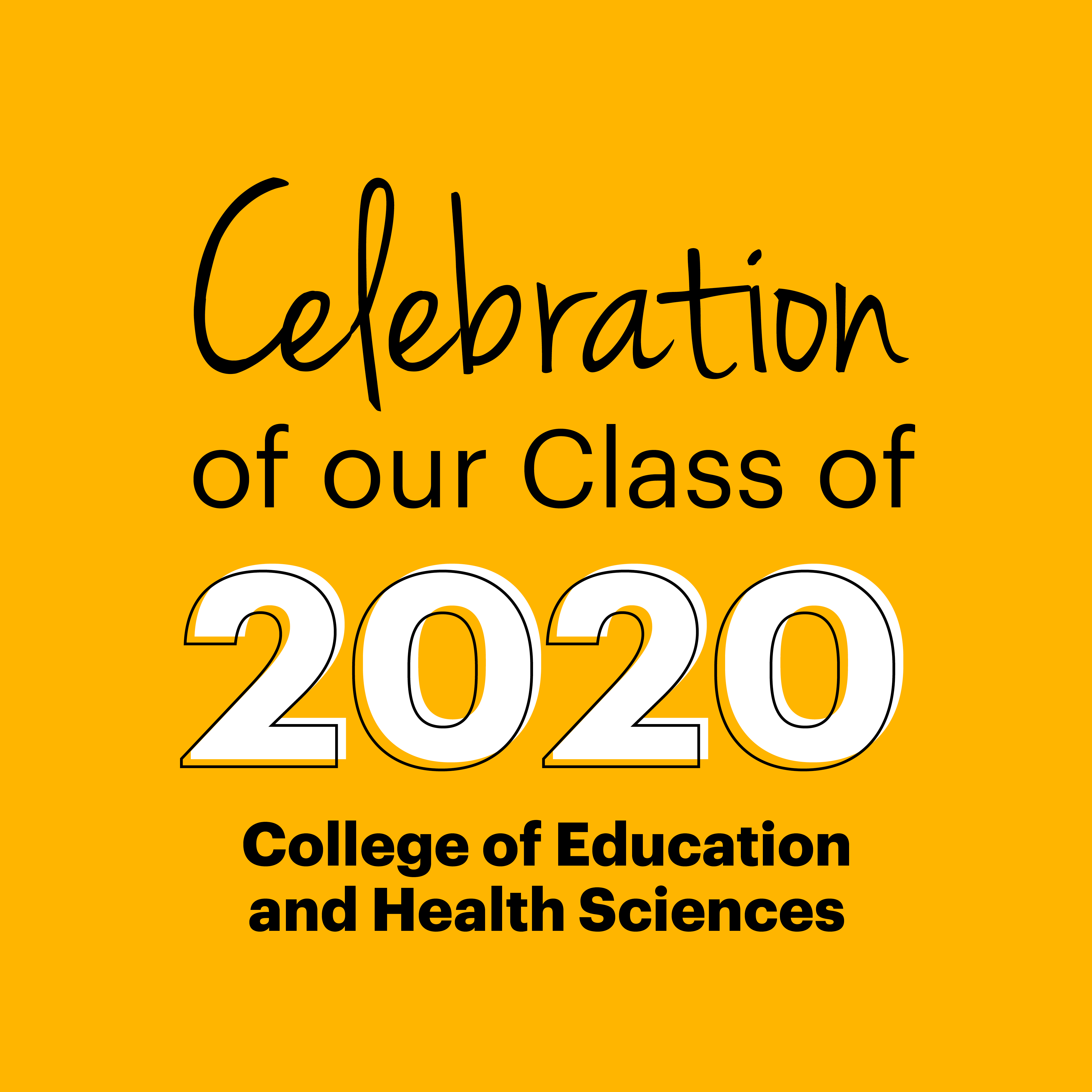 Class of 2020 - Education & Health Sciences