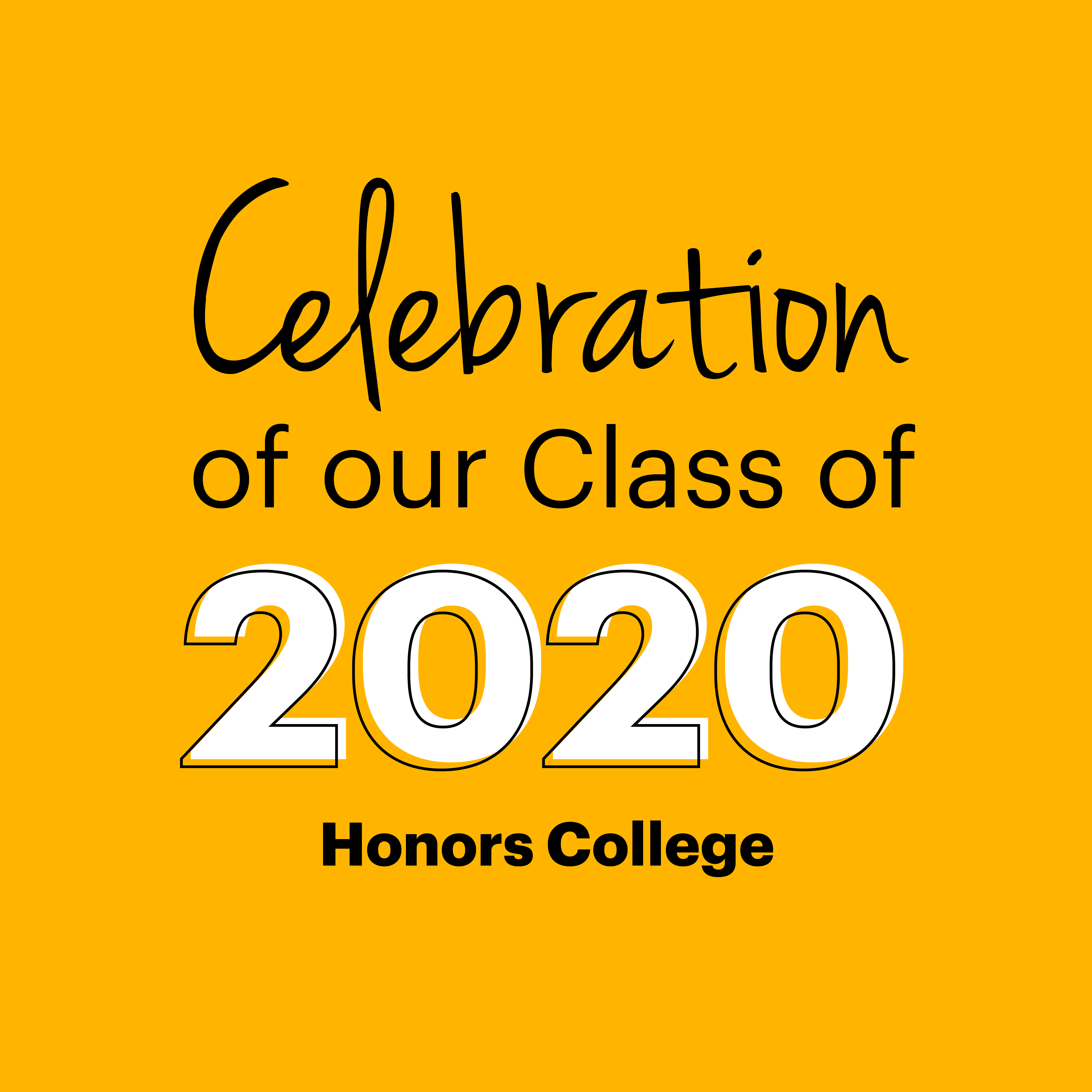 Class of 2020 - Honors
